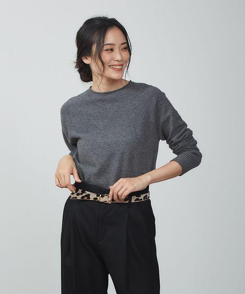 qualite / カリテ ニット・セーター | ウールロングニット【予約】(グレー)