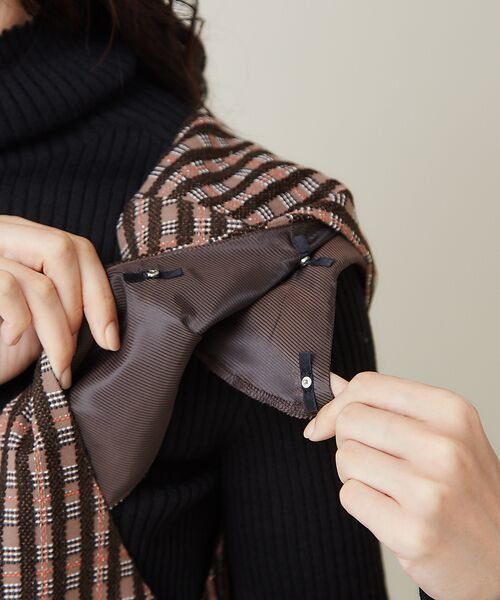qualite / カリテ ベスト | 【セットアップ】モールチェックジャケット【予約】 | 詳細13