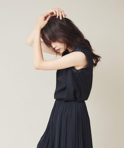 qualite / カリテ シャツ・ブラウス | バランサータンクトップ【予約】(ブラック)