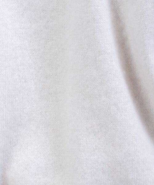 qualite / カリテ ニット・セーター | カシミヤVネックニットプルオーバー | 詳細3