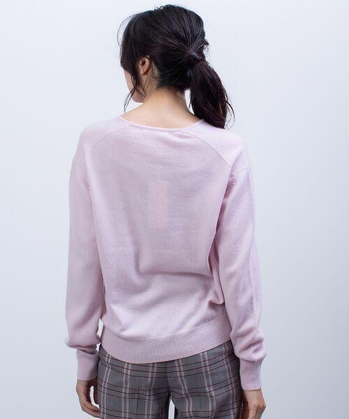 qualite / カリテ ニット・セーター | カシミヤVネックニットプルオーバー | 詳細5