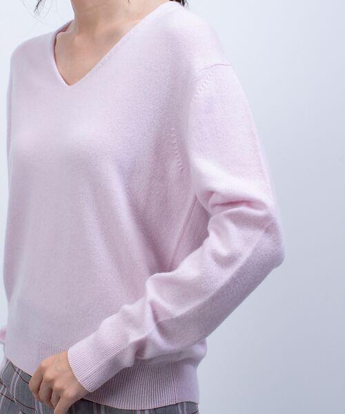 qualite / カリテ ニット・セーター | カシミヤVネックニットプルオーバー | 詳細7
