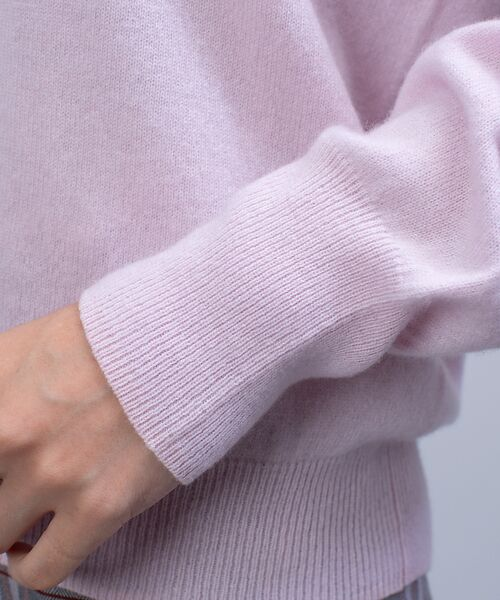 qualite / カリテ ニット・セーター | カシミヤVネックニットプルオーバー | 詳細8
