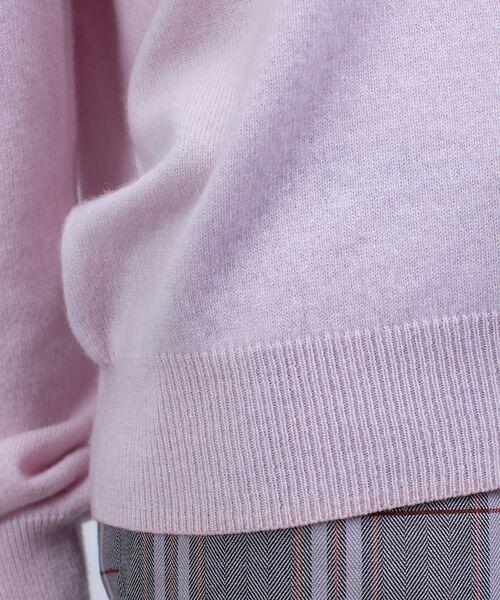 qualite / カリテ ニット・セーター | カシミヤVネックニットプルオーバー | 詳細9