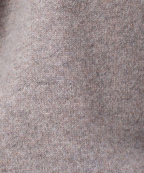 qualite / カリテ ニット・セーター | カシミヤVネックニットプルオーバー | 詳細16