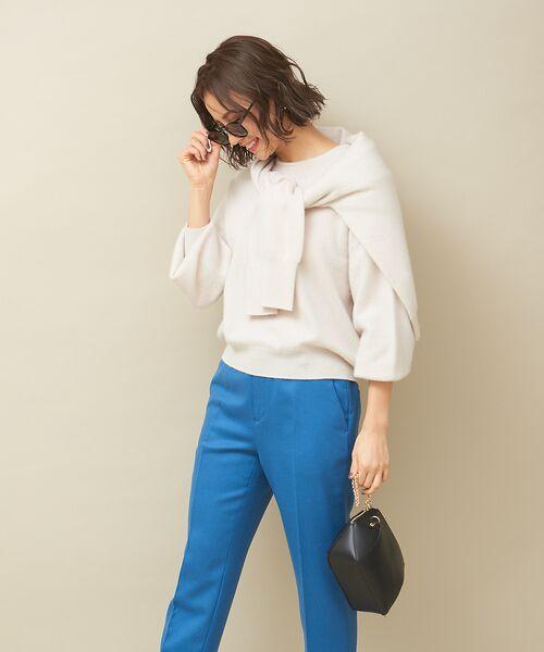 qualite / カリテ ニット・セーター | カシミヤクルーネックニットプルオーバー【予約】 | 詳細1