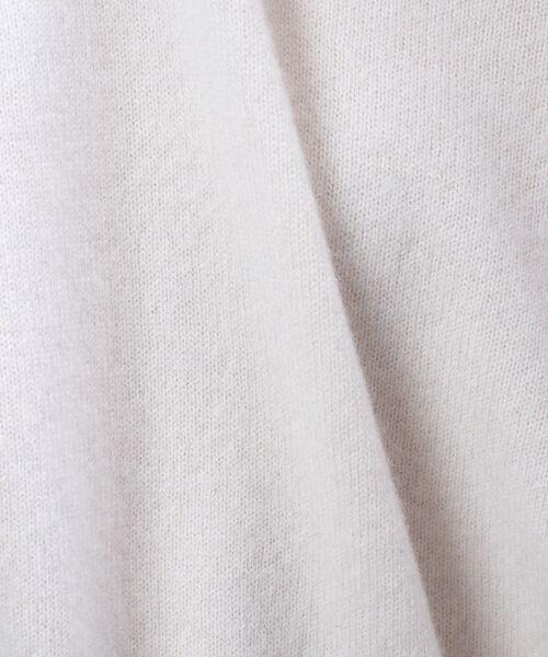qualite / カリテ ニット・セーター | カシミヤクルーネックニットプルオーバー【予約】 | 詳細3