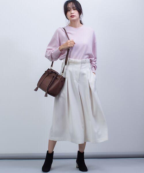 qualite / カリテ ニット・セーター | カシミヤクルーネックニットプルオーバー【予約】 | 詳細6