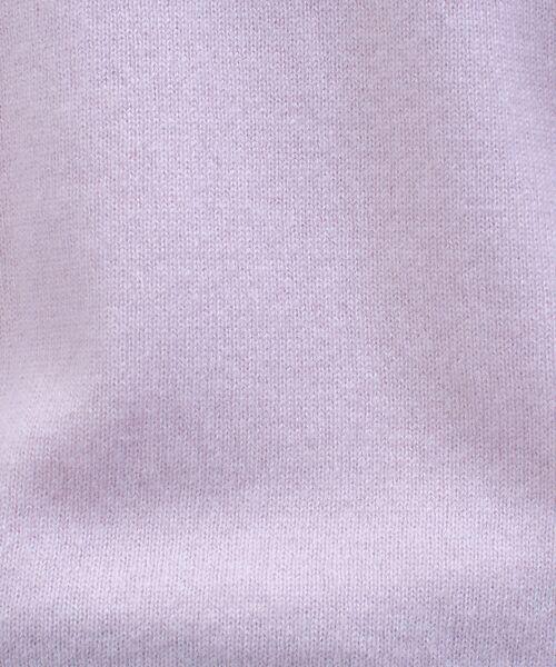 qualite / カリテ ニット・セーター | カシミヤクルーネックニットプルオーバー【予約】 | 詳細7