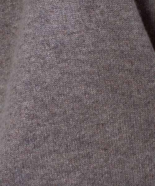 qualite / カリテ ニット・セーター   カシミヤクルーネックニットプルオーバー   詳細19