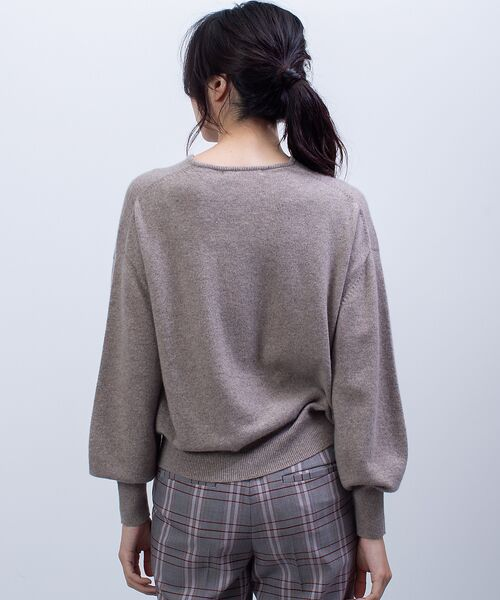 qualite / カリテ ニット・セーター   カシミヤクルーネックニットプルオーバー   詳細10