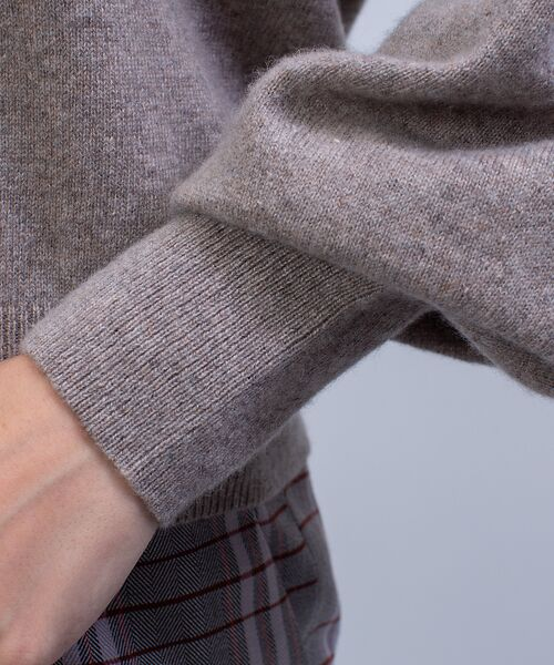 qualite / カリテ ニット・セーター   カシミヤクルーネックニットプルオーバー   詳細13