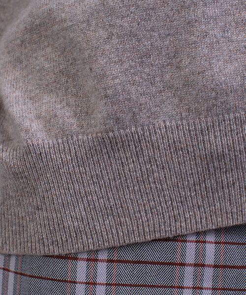 qualite / カリテ ニット・セーター | カシミヤクルーネックニットプルオーバー【予約】 | 詳細14