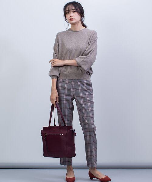 qualite / カリテ ニット・セーター | カシミヤクルーネックニットプルオーバー【予約】 | 詳細15
