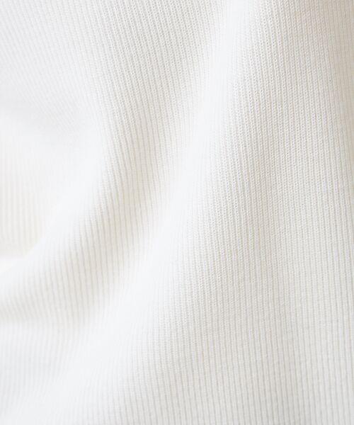 qualite / カリテ ニット・セーター | 【定番】片畔Vネックプルオーバー | 詳細8