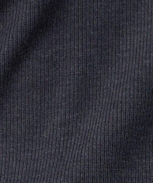 qualite / カリテ ニット・セーター | 【定番】片畔Vネックプルオーバー | 詳細27