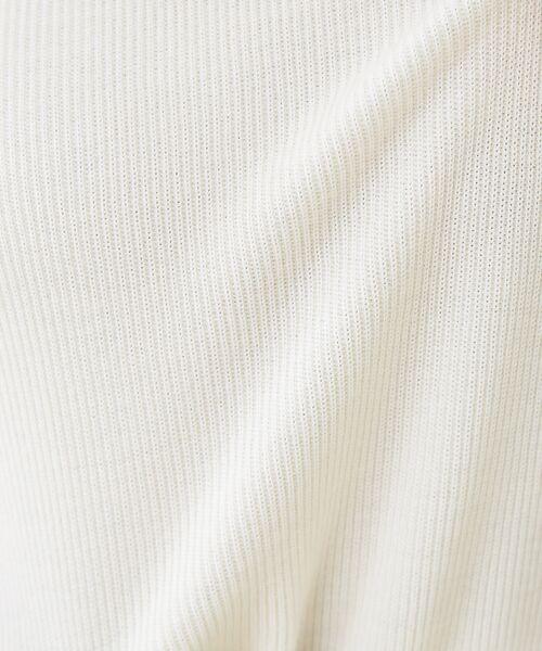 qualite / カリテ ニット・セーター | 【定番】片畔クルーネックプルオーバー【予約】 | 詳細3