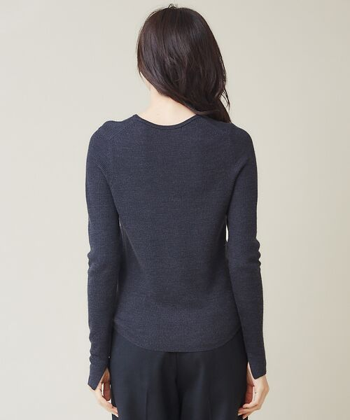 qualite / カリテ ニット・セーター | 【定番】片畔クルーネックプルオーバー | 詳細10