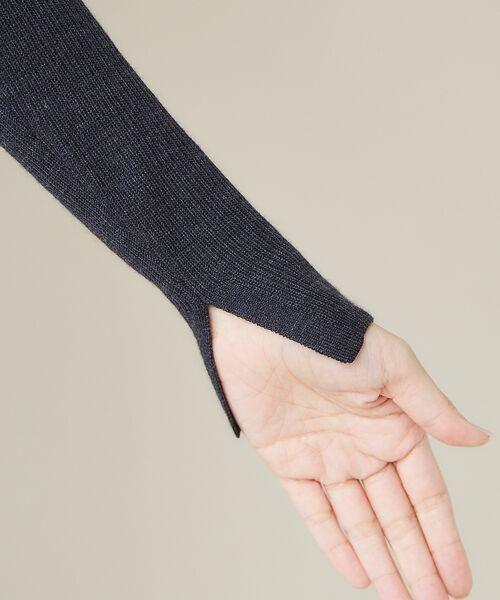 qualite / カリテ ニット・セーター | 【定番】片畔クルーネックプルオーバー | 詳細13