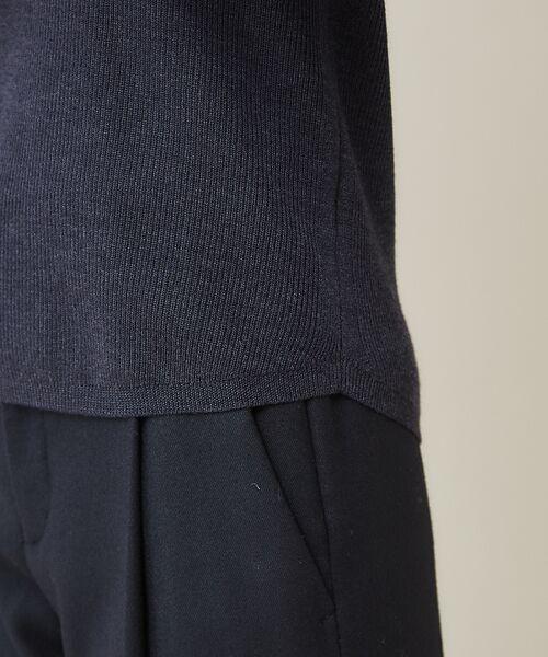 qualite / カリテ ニット・セーター | 【定番】片畔クルーネックプルオーバー | 詳細14