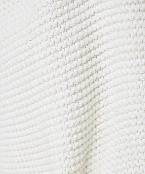 qualite / カリテ ニット・セーター | バルキーコットンニットプルオーバー | 詳細5