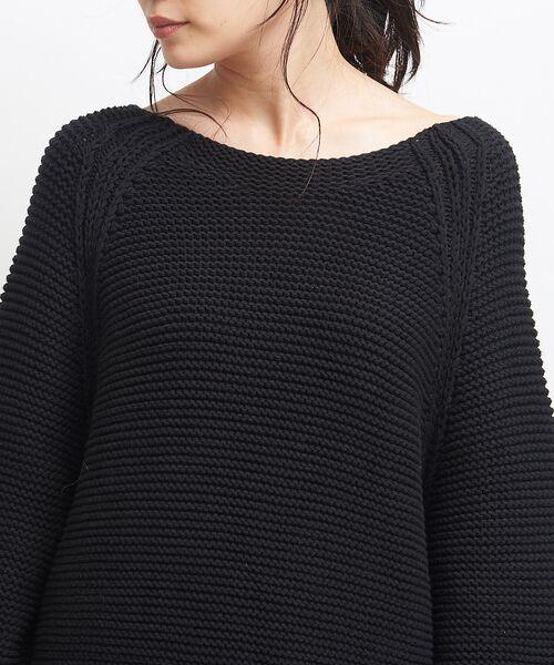 qualite / カリテ ニット・セーター | バルキーコットンニットプルオーバー | 詳細13