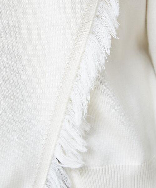 qualite / カリテ ニット・セーター | フリンジスリーブニットプルオーバー | 詳細7