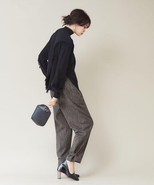 qualite / カリテ ニット・セーター | フリンジスリーブニットプルオーバー | 詳細19