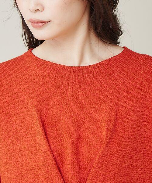 qualite / カリテ ニット・セーター | フロントタックニットプルオーバー【予約】 | 詳細8