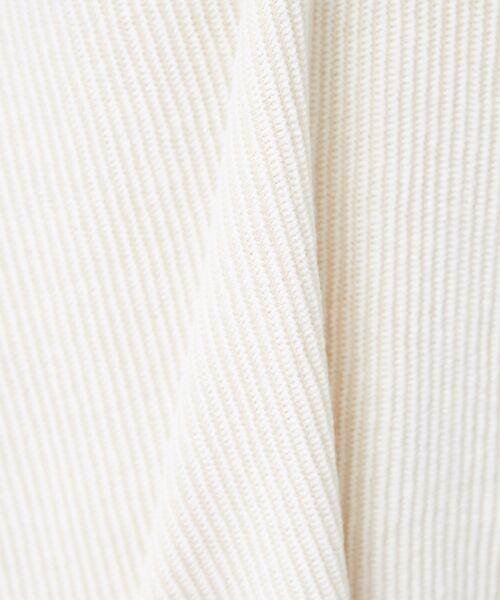 qualite / カリテ ニット・セーター | ストライプジャガードニットプルオーバー | 詳細7