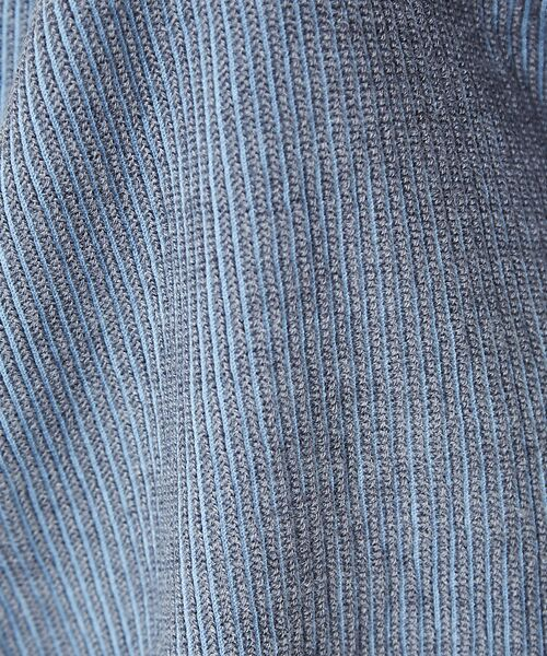 qualite / カリテ ニット・セーター | ストライプジャガードニットプルオーバー | 詳細13