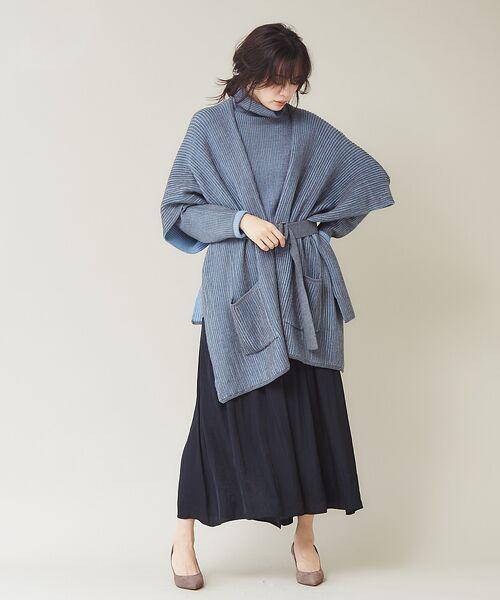 qualite / カリテ ニット・セーター | ストライプジャガードニットプルオーバー | 詳細14