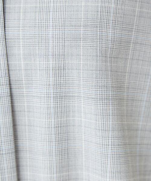 qualite / カリテ パンツ | 【防シワ・手洗い可】ウールチェックイージーパンツ【予約】 | 詳細7
