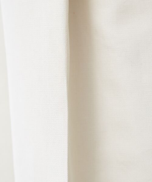 qualite / カリテ パンツ | ウエストテープワイドクロップドパンツ | 詳細8