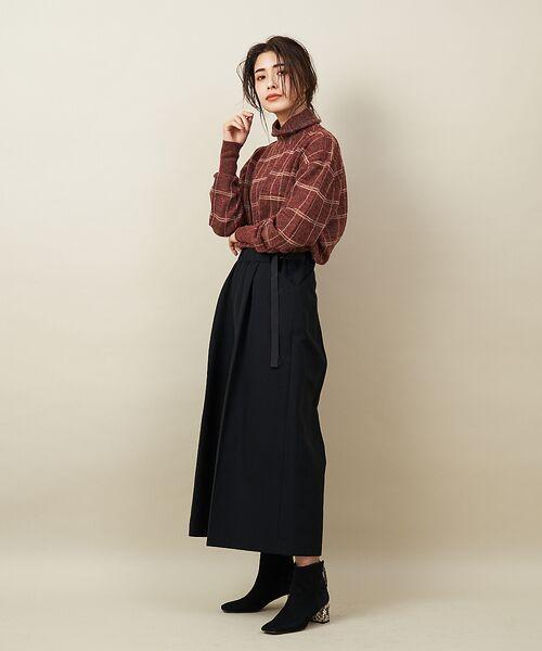qualite / カリテ ニット・セーター | チェックモヘアニットプルオーバー | 詳細14
