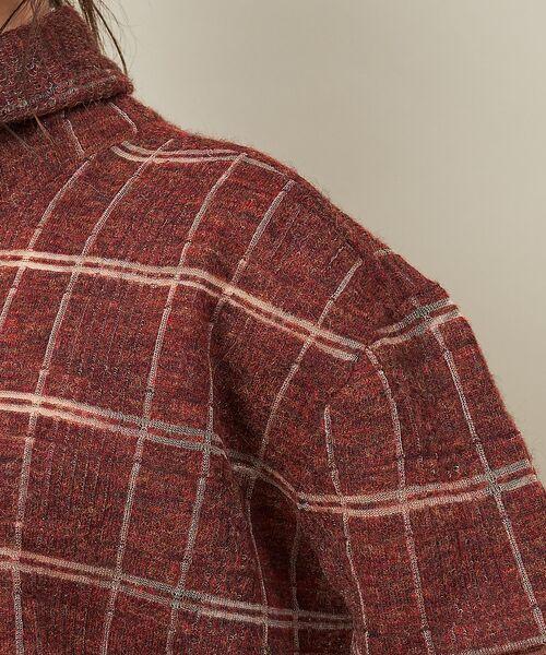 qualite / カリテ ニット・セーター | チェックモヘアニットプルオーバー | 詳細9