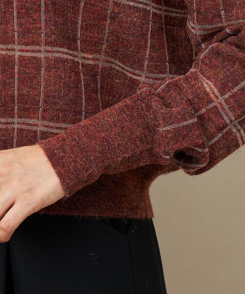 qualite / カリテ ニット・セーター | チェックモヘアニットプルオーバー | 詳細10