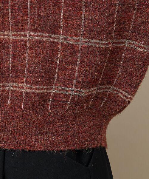 qualite / カリテ ニット・セーター | チェックモヘアニットプルオーバー | 詳細11