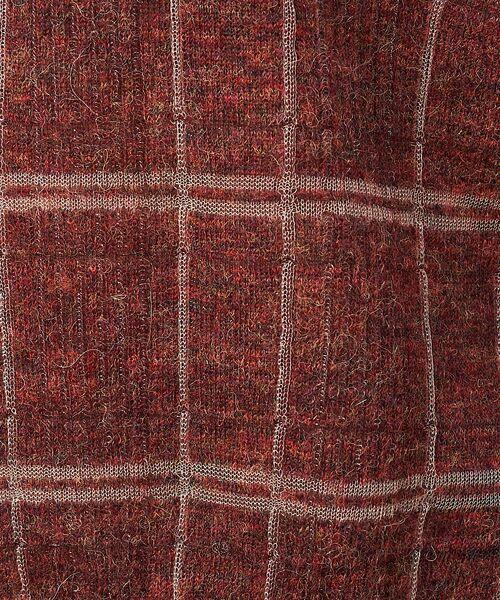 qualite / カリテ ニット・セーター | チェックモヘアニットプルオーバー | 詳細12