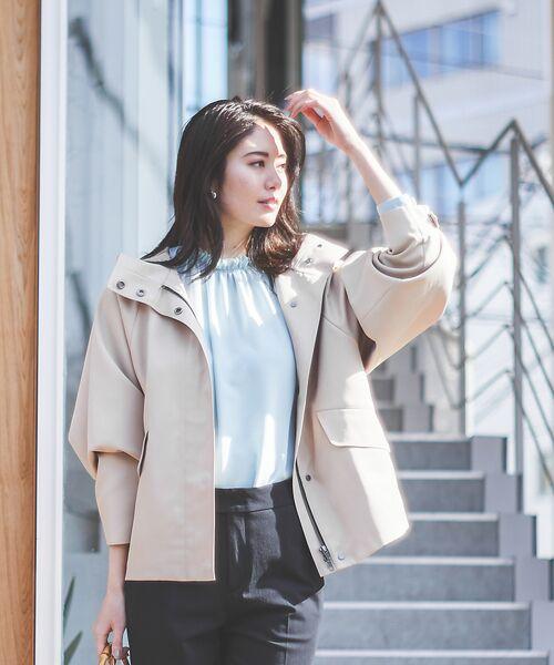 qualite / カリテ ブルゾン   フーテッドブルゾン   詳細18