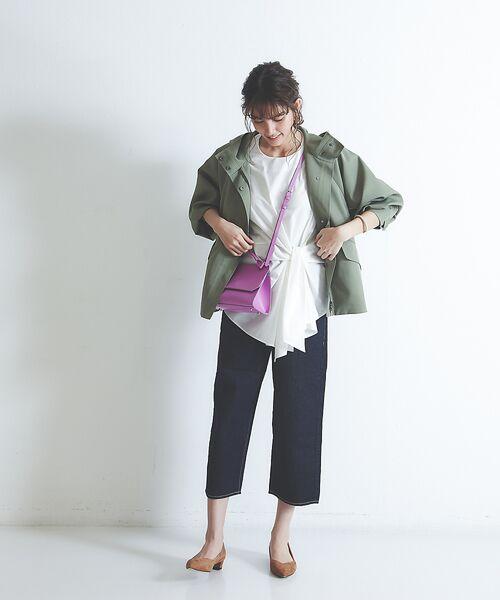 qualite / カリテ ブルゾン   フーテッドブルゾン   詳細26