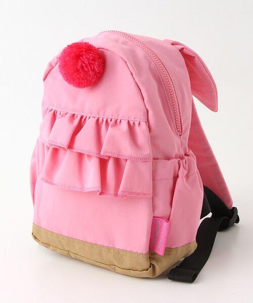 Rag Mart / ラグマート リュック・バックパック | ウサ耳ナイロンリュック(ピンク)