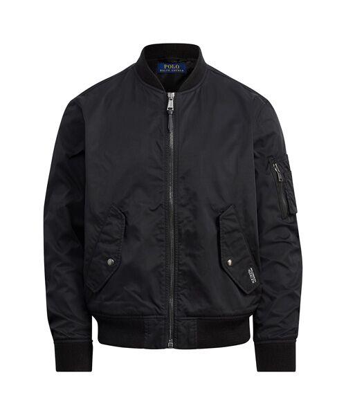 ツイル ボンバー ジャケット