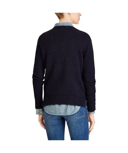 POLO RALPH LAUREN / ポロ ラルフ ローレン ニット・セーター | Polo ベア コットンリネン セーター | 詳細4