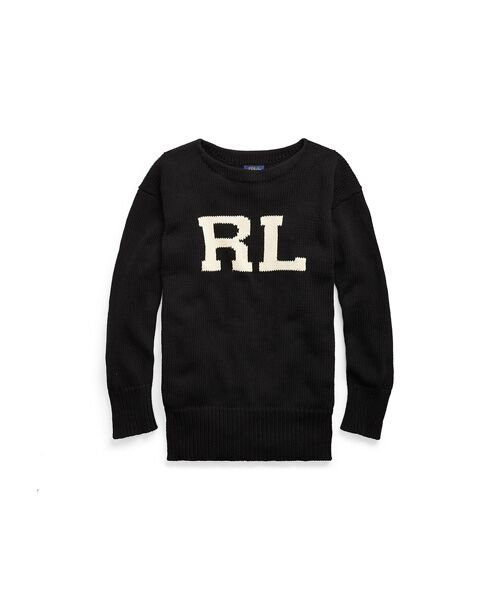 POLO RALPH LAUREN / ポロ ラルフ ローレン ニット・セーター | RL コットン クルーネック セーター | 詳細1