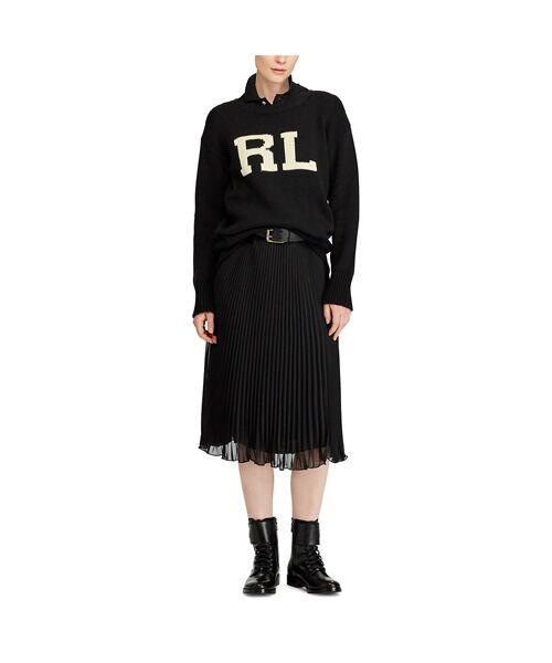 POLO RALPH LAUREN / ポロ ラルフ ローレン ニット・セーター | RL コットン クルーネック セーター | 詳細2
