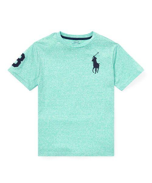POLO RALPH LAUREN / ポロ ラルフ ローレン Tシャツ   (ボーイズ 8才~20才)コットン ジャージー クルーネック Tシャツ(D08グリーン)