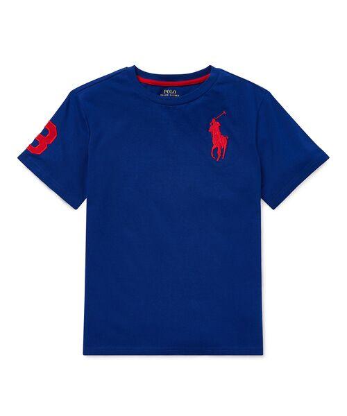 POLO RALPH LAUREN / ポロ ラルフ ローレン Tシャツ   (ボーイズ 8才~20才)コットン ジャージー クルーネック Tシャツ(E50ブルー)