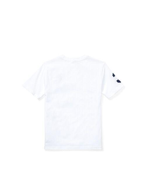 POLO RALPH LAUREN / ポロ ラルフ ローレン Tシャツ   (ボーイズ 8才~20才)コットン ジャージー クルーネック Tシャツ   詳細1