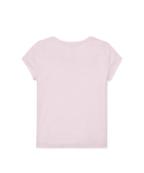 POLO RALPH LAUREN / ポロ ラルフ ローレン Tシャツ | (ガールズ 7才~16才)クリケット ベア コットン Tシャツ | 詳細1